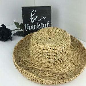 Scala Rolled Brim Sun Hat